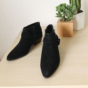 LUCKY BRAND enitha black ankle booties